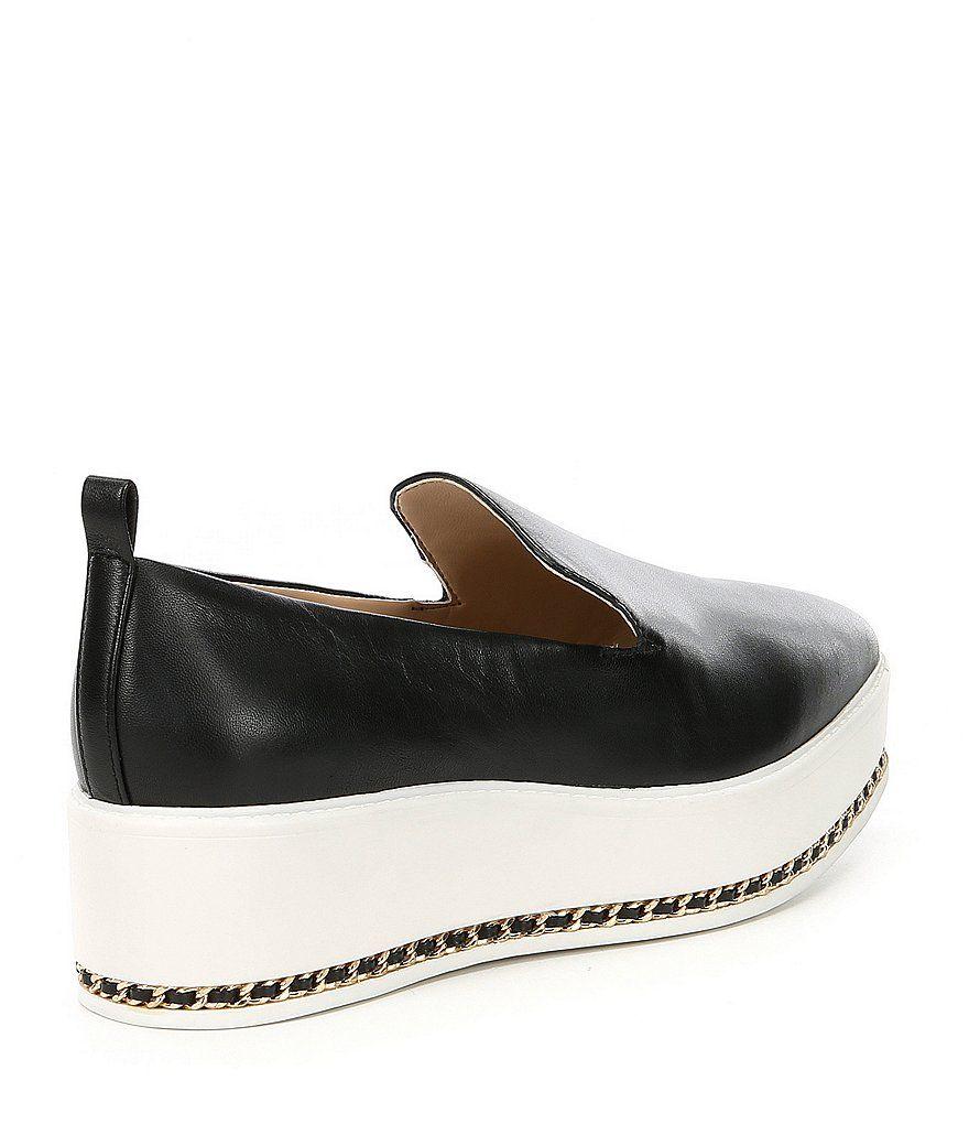 KARL LAGERFELD PARIS Brea Leather Slip