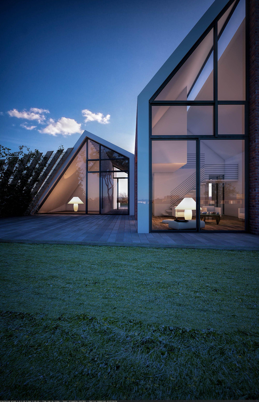 maison bio climatique saint val ry sur somme architecture contemporaine maisons. Black Bedroom Furniture Sets. Home Design Ideas