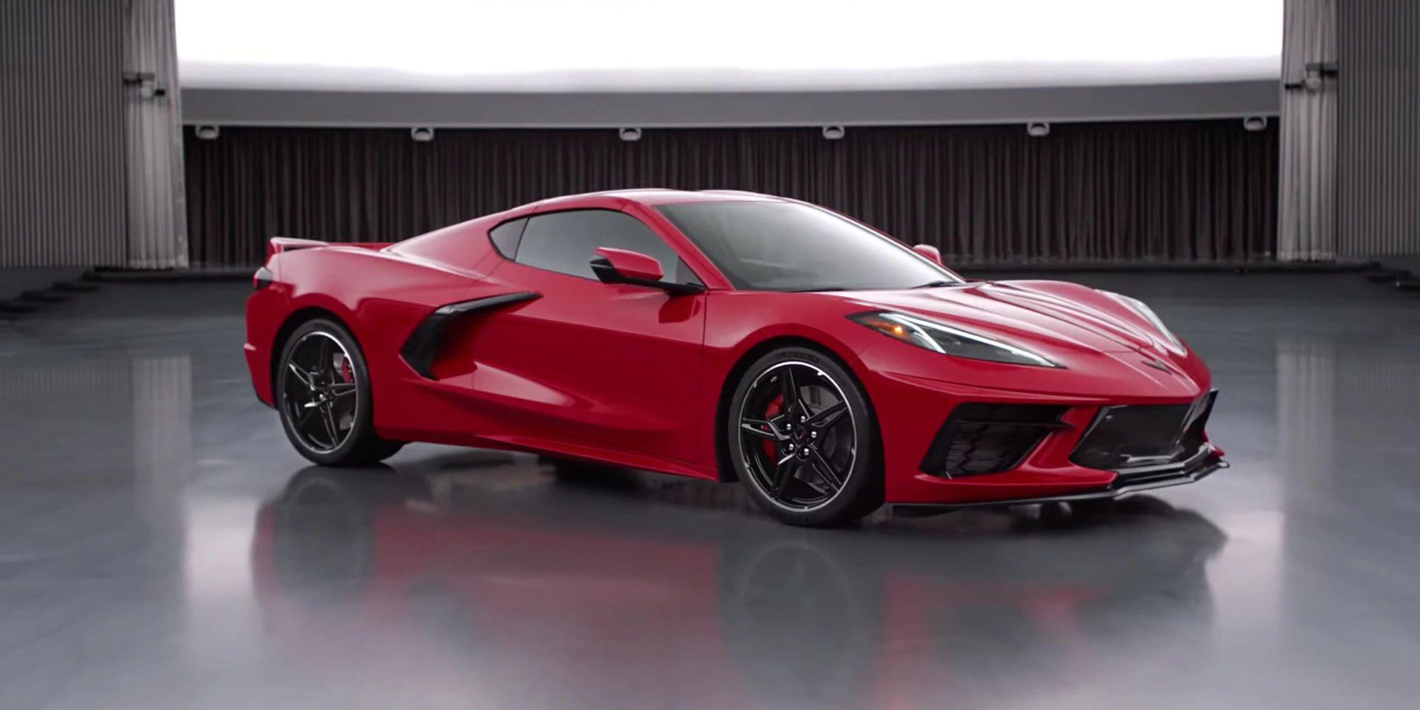 What Inspires 2020 Chevrolet Corvette Stingray C8 Interior Corvette Sports Car Corvette Stingray