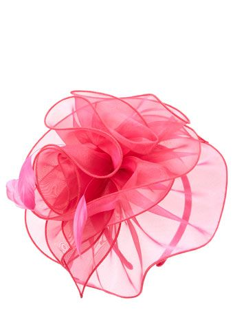 Mocha Organza Layered Disc Fascinator Fascinators Hats Occasionwear Women Bhs