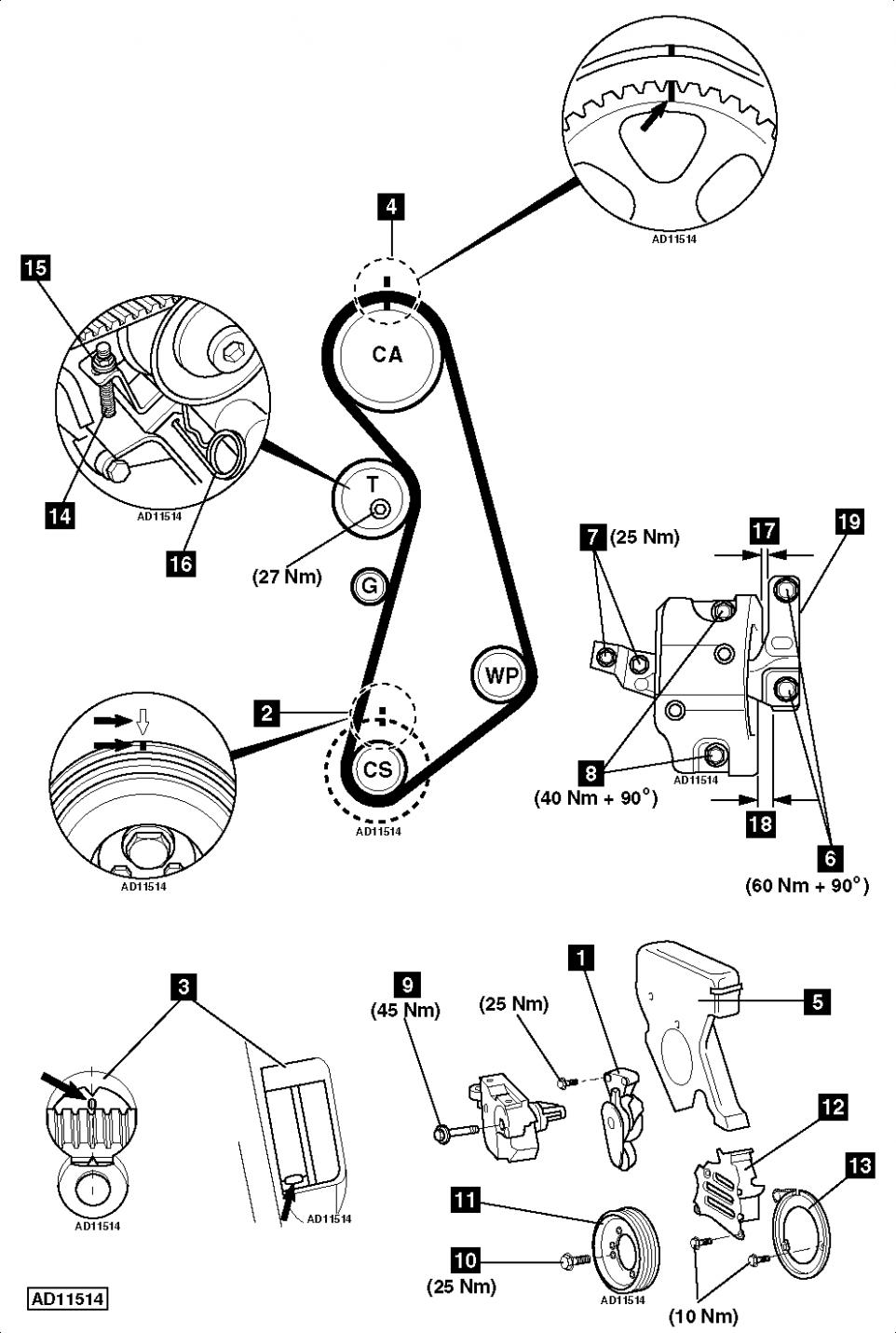 Vw Golf Engine Belt Diagram Vw Golf Engine Belt Diagram