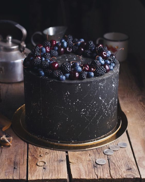 For Heaven's Cake: Irresistible Cakes for All Occasions -   12 black cake Birthday ideas