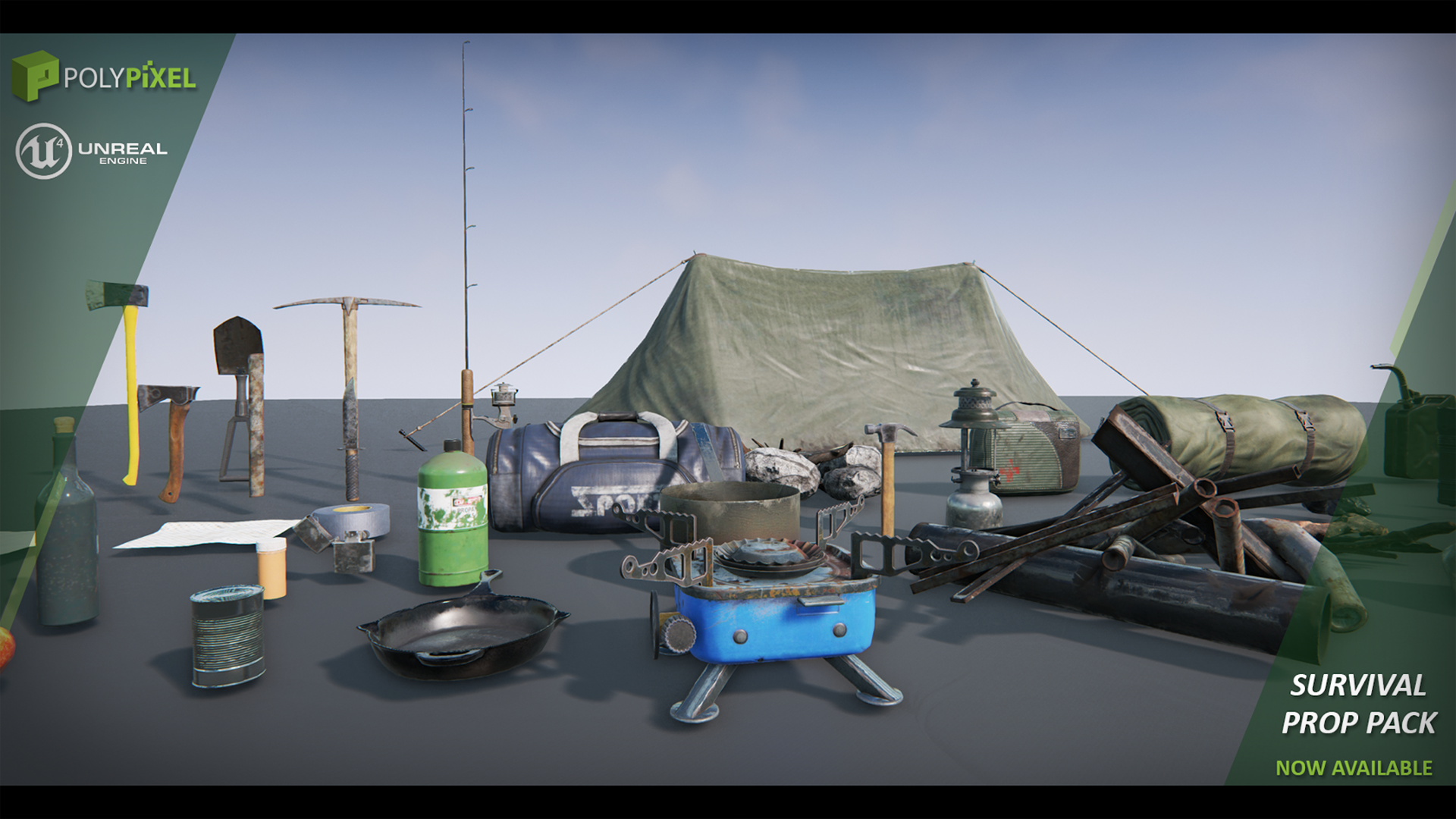 Survival Props by PolyPixel in props - UE4 Marketplace | Unreal