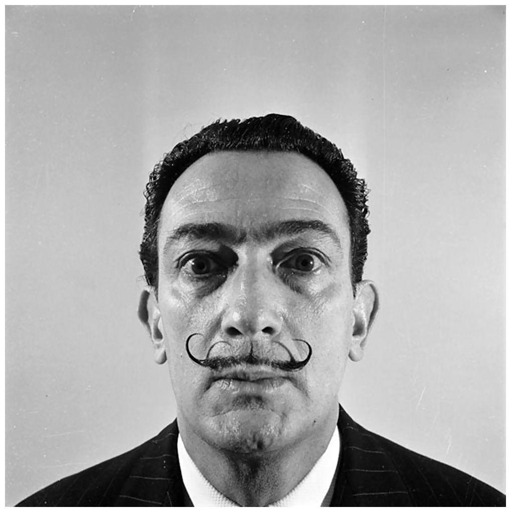 Salvador Dali, Studio Willy Rizzo, Paris, 1966 Photo Willy Rizzo ...