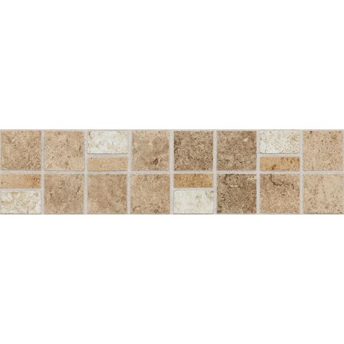 """Decorative Travertine Tile Borders Fidenza Dt 3"""" X 12"""" Universal Border Other Sizes And"""