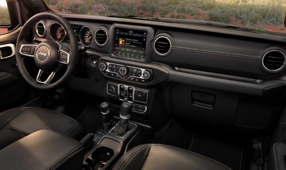 New 2019 Jeep Wrangler Unlimited Interior Jeep Interiors Jeep
