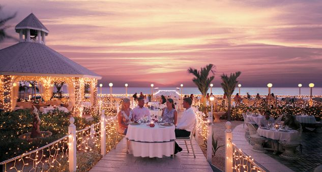 Grand Old House Fine Dining Wedding Venue In Cayman Our Reception