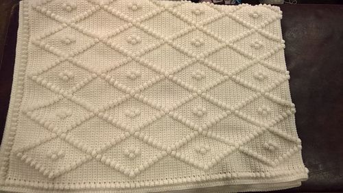 Elegant Diamonds Pattern By Glenda Kooney Crochet Afghans