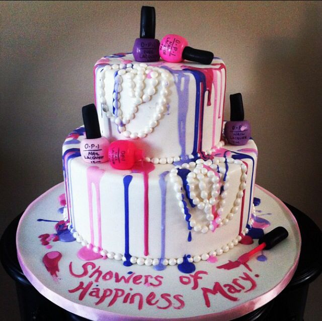 Pin by Spa Touch, LLC on Nail Cakes | Birthday Cake, Cake ...