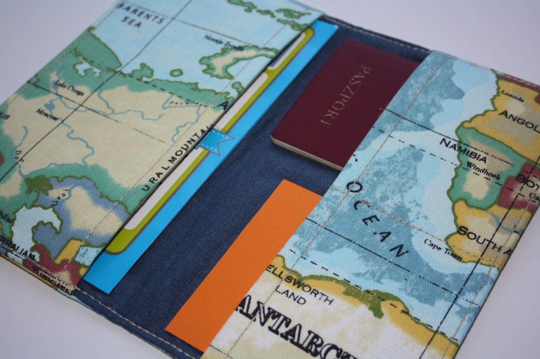 World map travel wallet passport holder travel organizer world map travel wallet passport holder travel organizer organizer reisportefeuille paspoorthouder de organisator van de reizen gumiabroncs Images