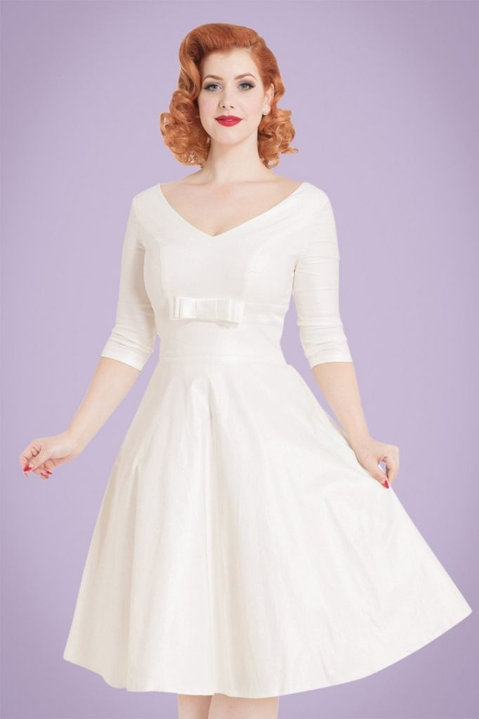 White Swing Dress Wedding Dressy Dresses For Weddings