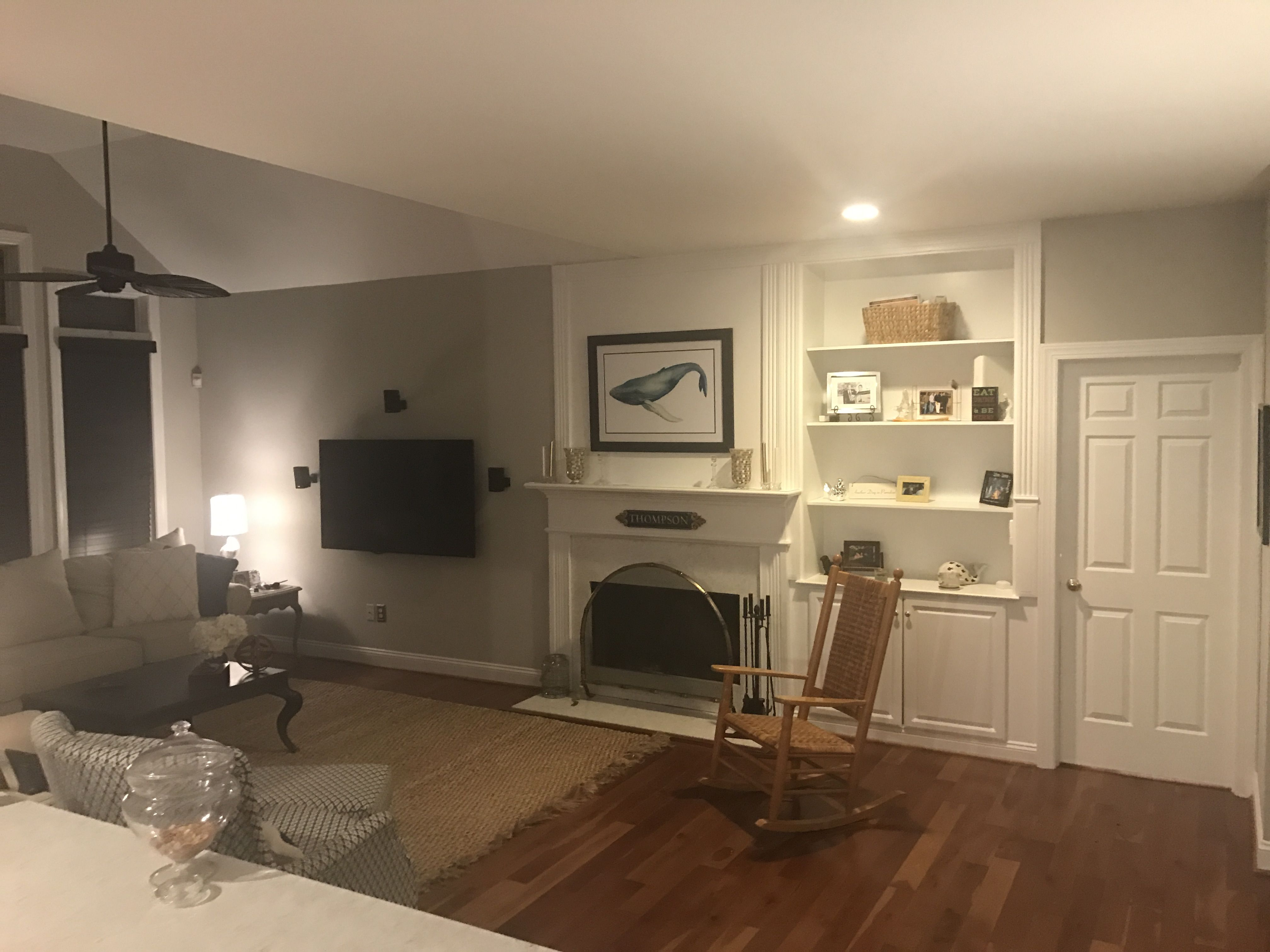 fireplace surround: quartz in lusso fireplace screen: ballard