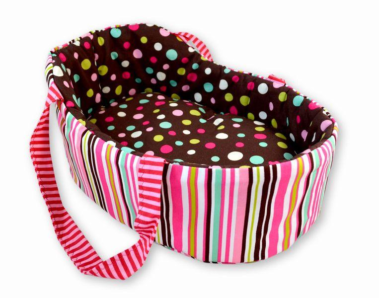 joli petit couffin con u pour une poup e corolle tidoo ou. Black Bedroom Furniture Sets. Home Design Ideas