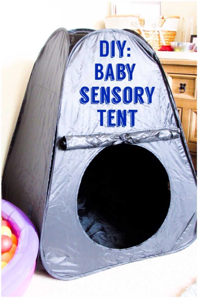 Diy Baby Sensory Tent For Under 163 20 Sensory Room Ideas