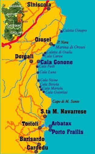 Gulf Of Orosei Beaches Sardinia Italy Wnimѕu ѕah U