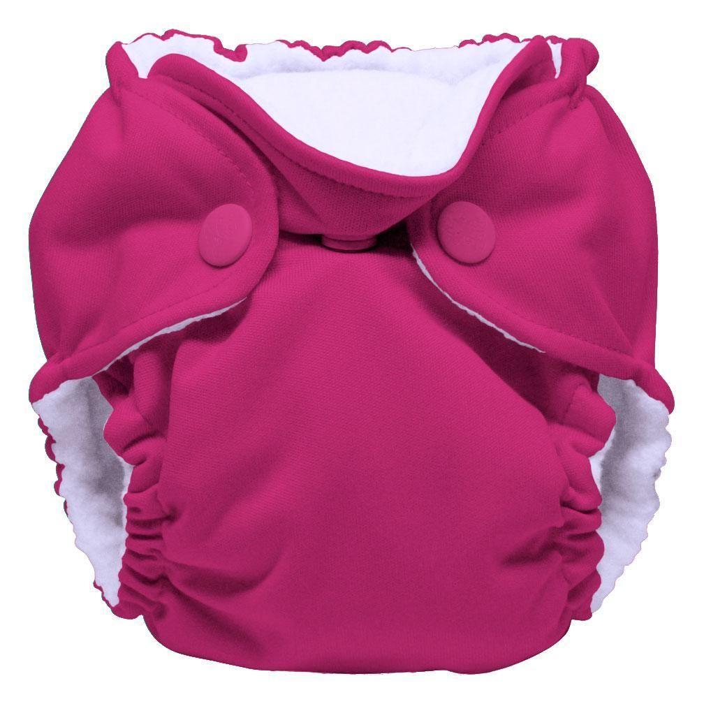 Newborn All in One Cloth Diaper LiL Joey (2 pk)- Sherbert - Newborn (4-12 Pounds)