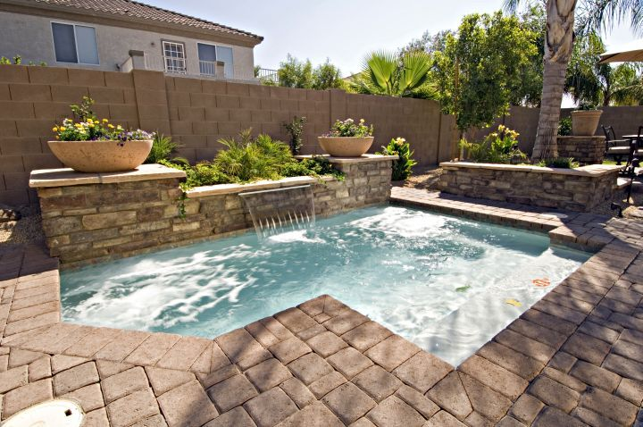 Check Out These 17 Affordable Small Pool Ideas To Fit Your Budget And Get Inspired Now Small Pool Design Pools For Small Yards Small Inground Pool