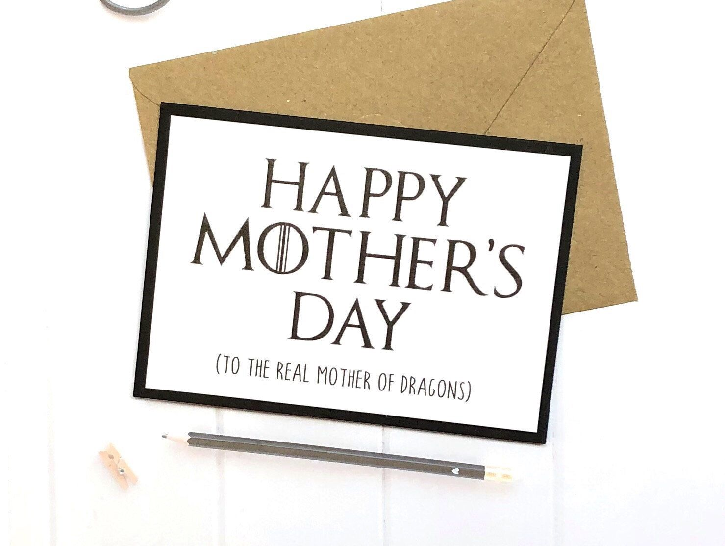 Excited To Share This Item From My Etsy Shop Game Of Thrones Gift Mother S Day Card Mother S Day Gift Card Birthday Cards For Boyfriend Mother S Day Games