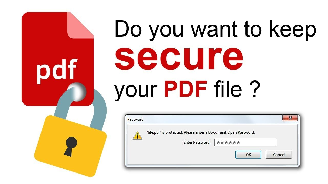 Pin On How To Add Password To Pdf Files From Photoshop Do You Want To Keep Secure Your Pdf File