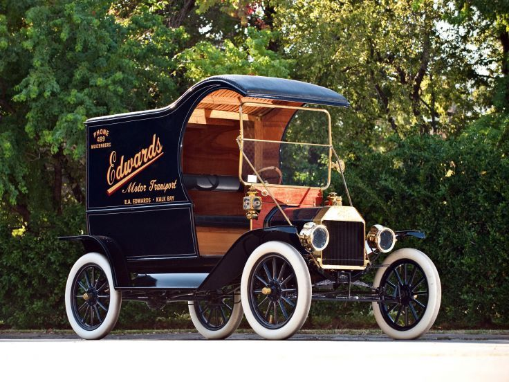 1912 Ford Model T Delivery Retro Truck Transport Cargo G Wallpaper 2048x1536 108271 Truck Transport Ford Models Model T