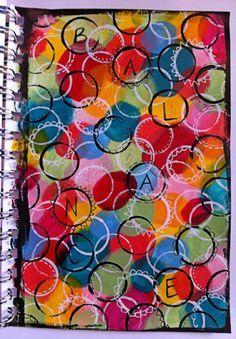 Etiquette prénom … | Cours d'art, Couvertures de cahier, Art à la maternelle
