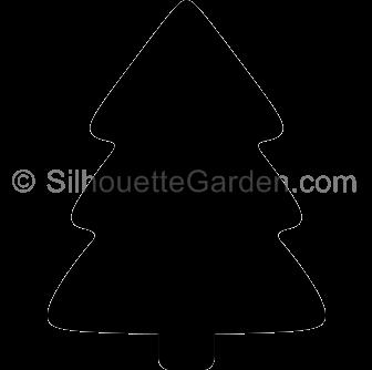 Simple Christmas Tree Silhouette Christmas Tree Silhouette Simple Christmas Tree Simple Christmas