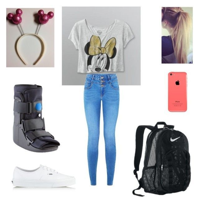 Spirit Week: Character Day #characterdayspiritweek Spirit Week: Character Day by melanie125-1 ❤ liked on Polyvore featuring Vans and NIKE #characterdayspiritweek