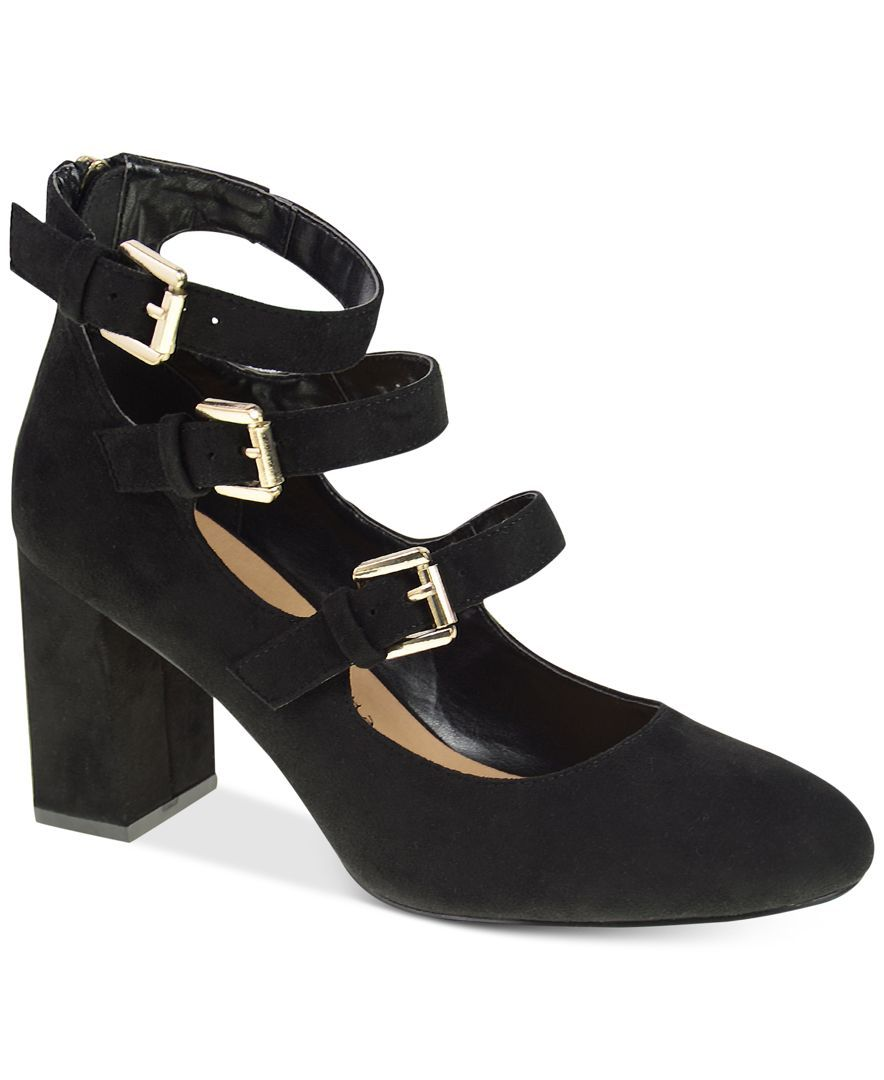 Chinese Laundry Dedra Mary Jane Block-Heel Pumps | Products ...