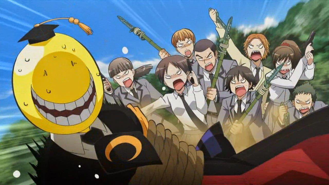 Opis anime Ansatsu Kyoushitsu zabójczy nauczyciel chce