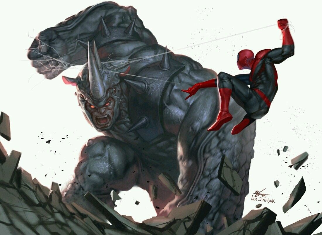 Spider-Man vs rhino | Comic | Pinterest | universo Marvel ...