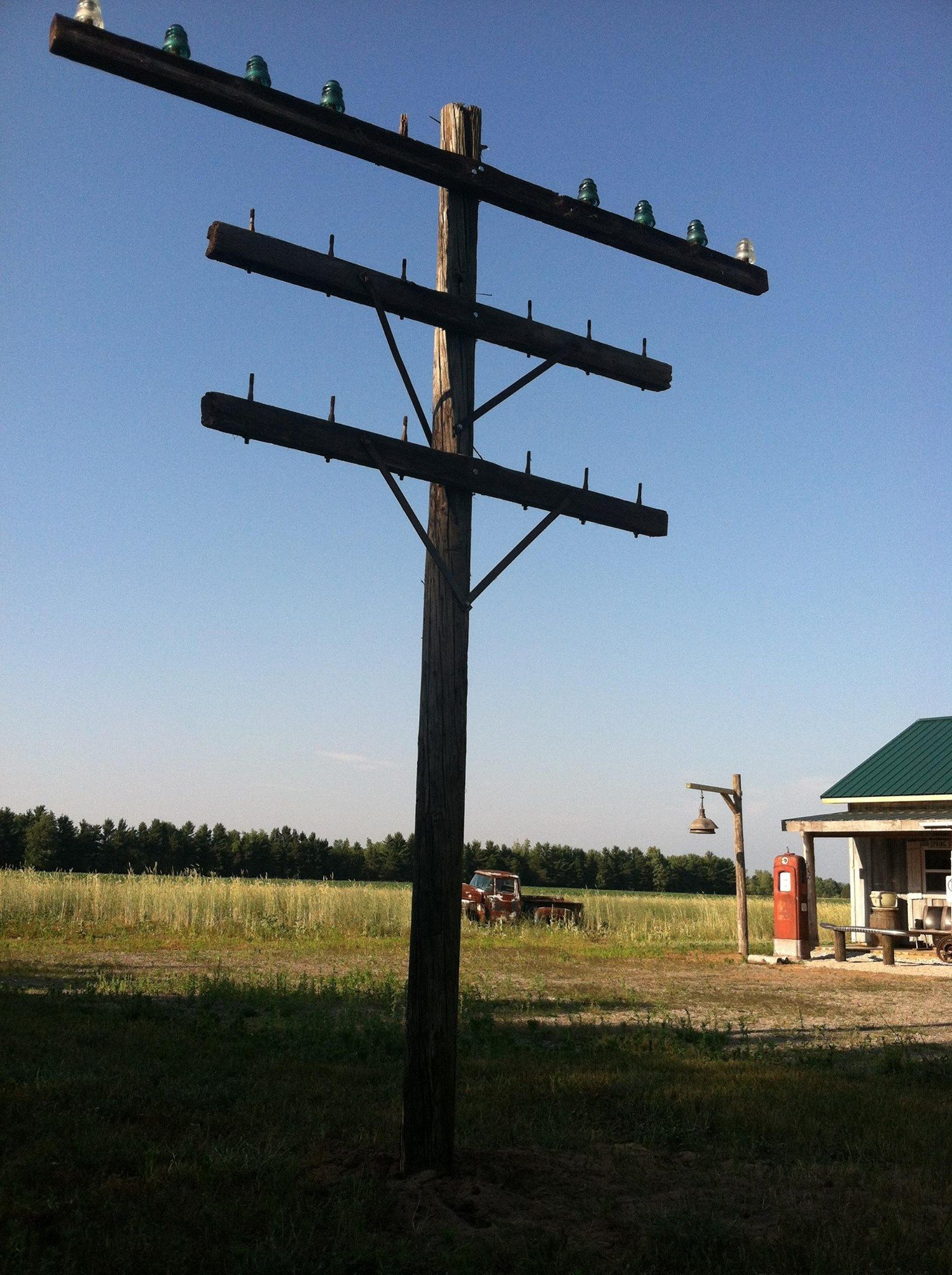 Old Telephone Pole And Wires - Trusted Wiring Diagram
