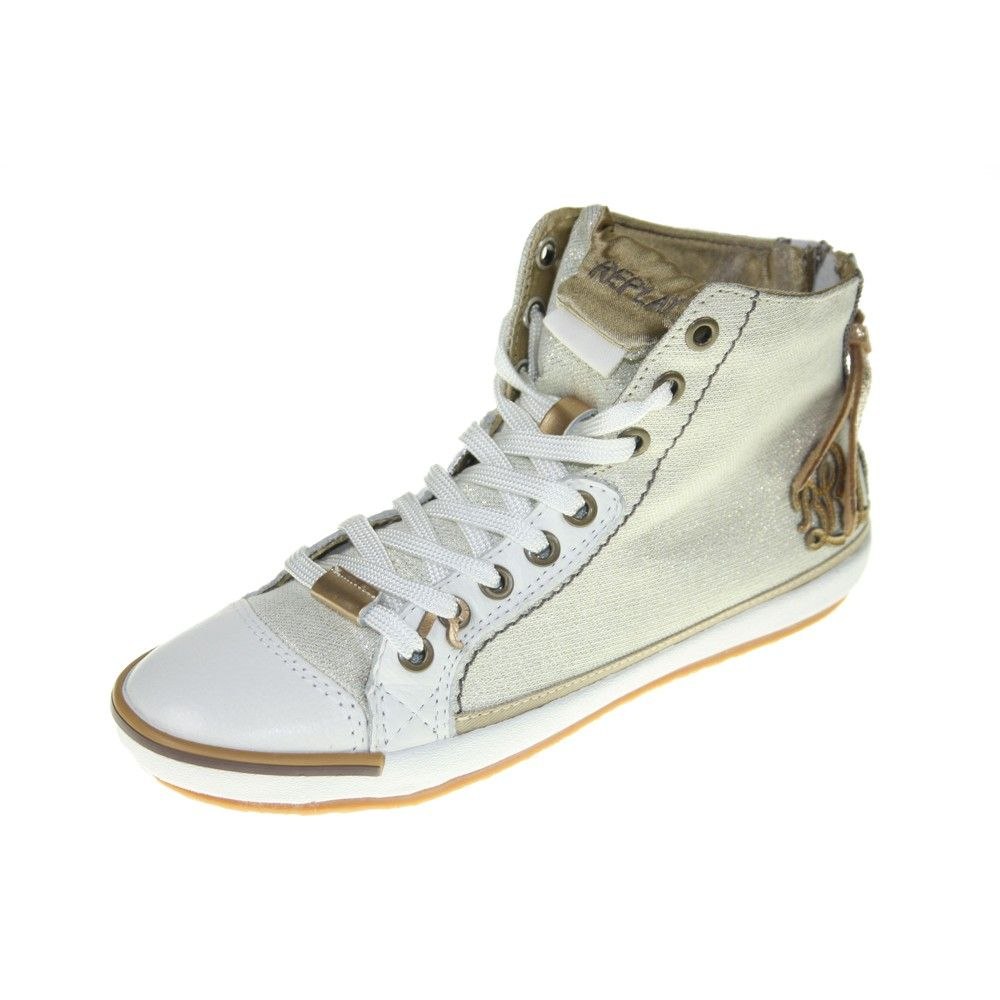new york 16152 60986 REPLAY Schuhe - Sneaker ELECTRA METAL M - platin Damenschuhe ...
