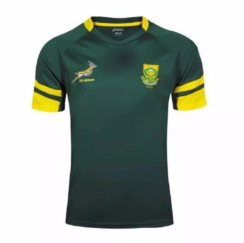 2016 Rugby partita mondo Sud Africa Irlanda Newaland francia squadre euro home maillot Jersey di Rugby Manica Rugby maglie Shirt Da Uomo