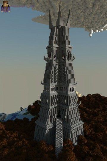 темная башня в майнкрафт