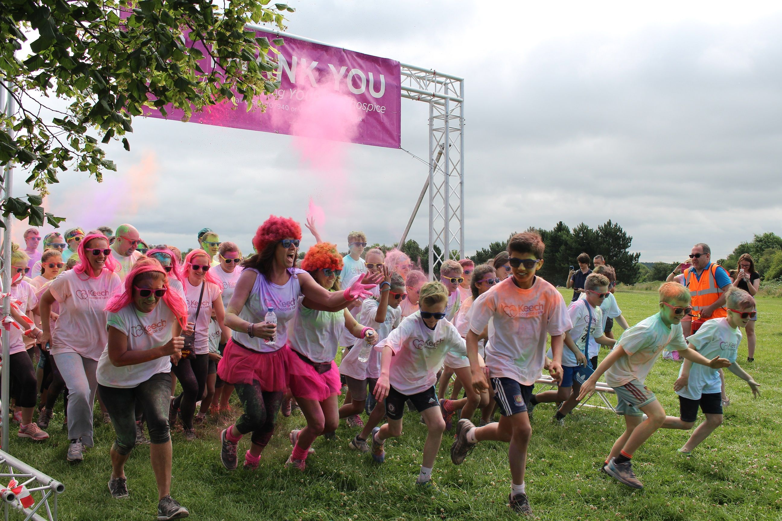 Keech Colour Dash Raises Record Amount