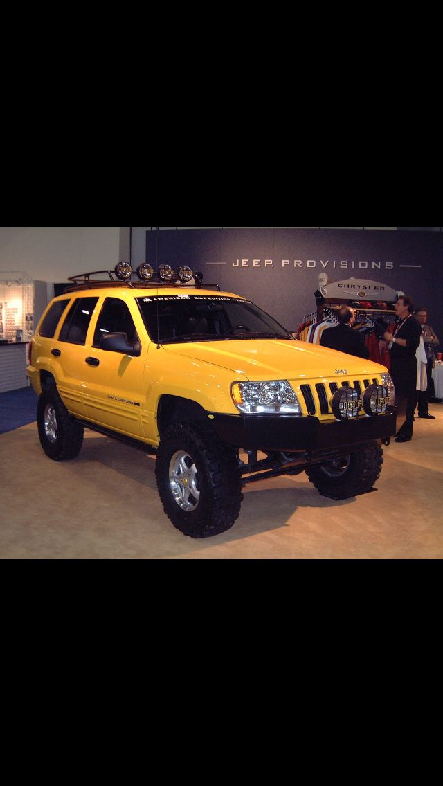 Not A Yellow Fan But Well Done Jeep Grand Jeep Grand Cherokee Jeep