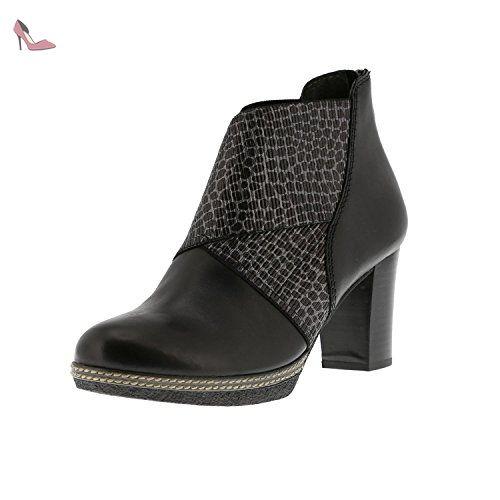 Gabor Fashion 31.680, Bottes Femme - Beige (Cenere (Micro) 43), 44 EU