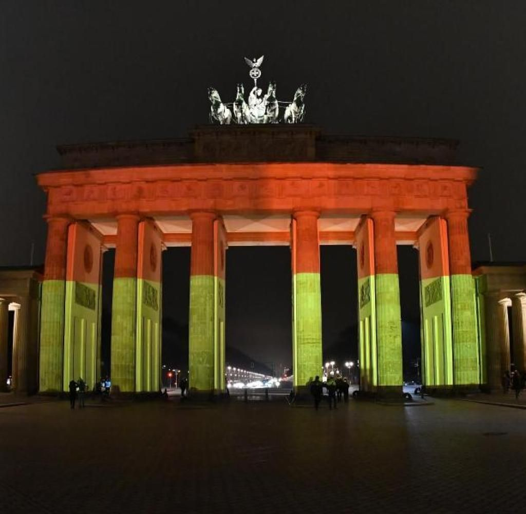 Je Suis Brandenburg Gate Commemoration Illuminations