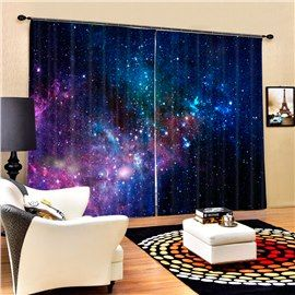 Beautiful Curtains for A Dark Blue Room