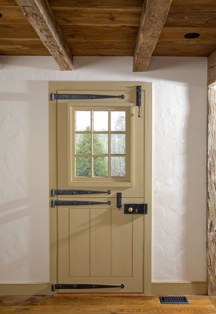 traditional front doors by Fredendall Building Company   dutch door ...