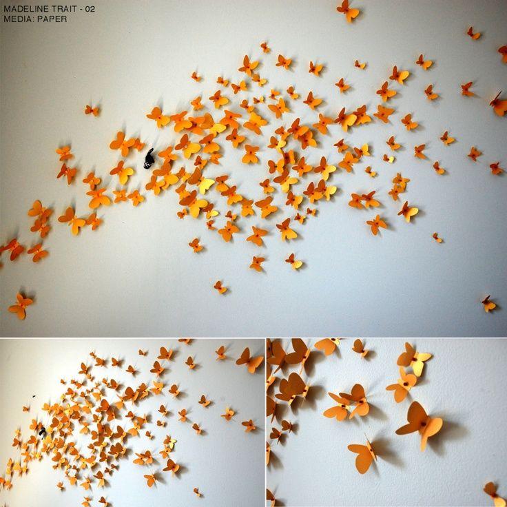 Wall Installation Art - Makipera.com  sc 1 st  Pinterest & Wall Installation Art - Makipera.com | Abstract metal wall art ...
