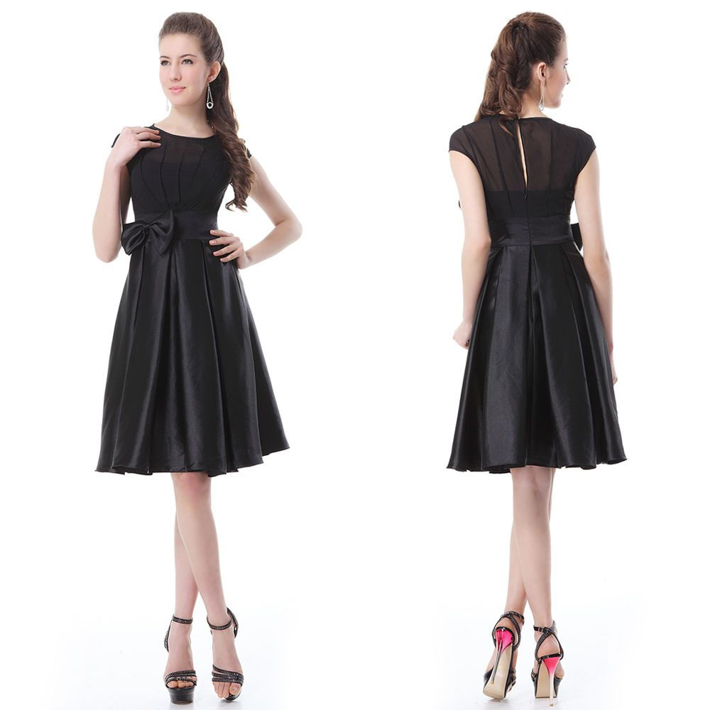 Us stock short vintage ruffles party dresses cocktail stylish casual