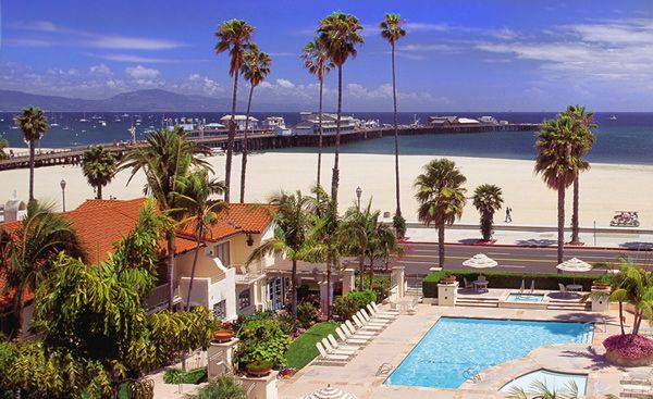 The Harbor View Inn Is Santa Barbara S Premier Beachfront Hotel And Offers Guests A Wide Range