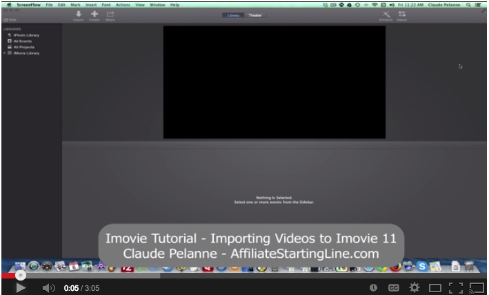 How to use imovie mac