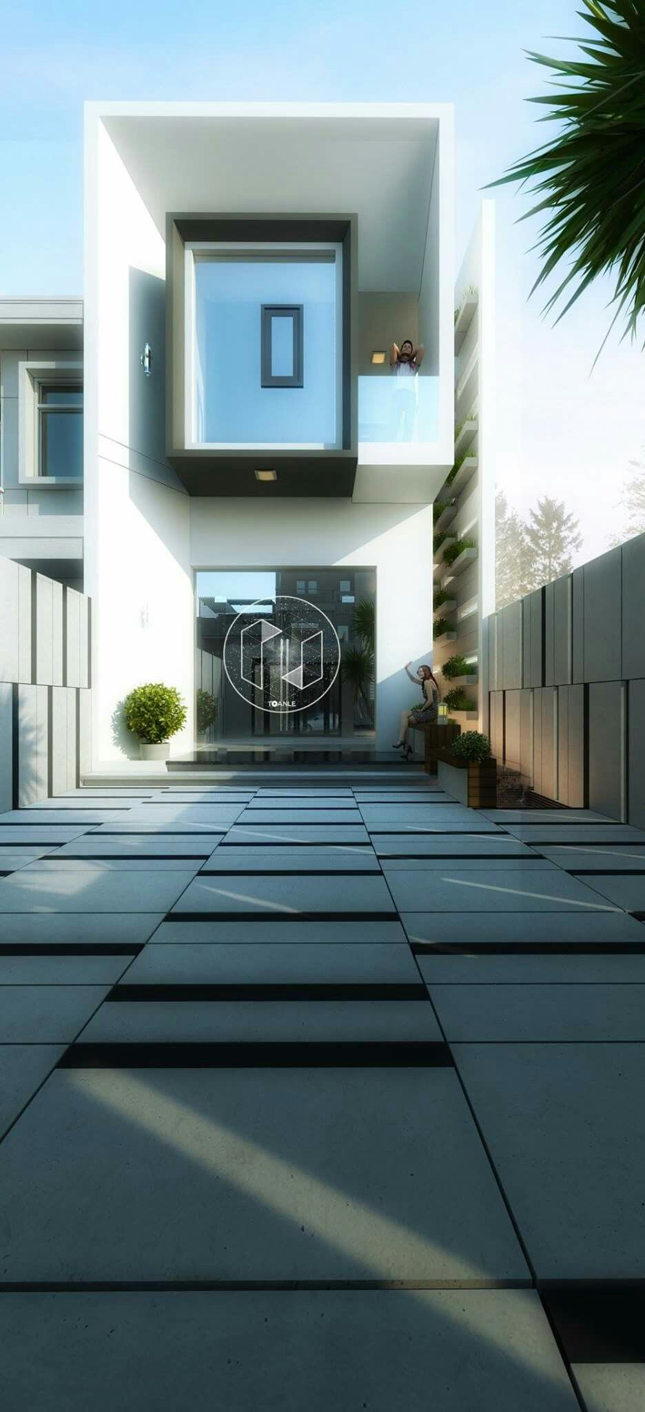 Contemporary house design | House | Pinterest | Moderne häuser ...