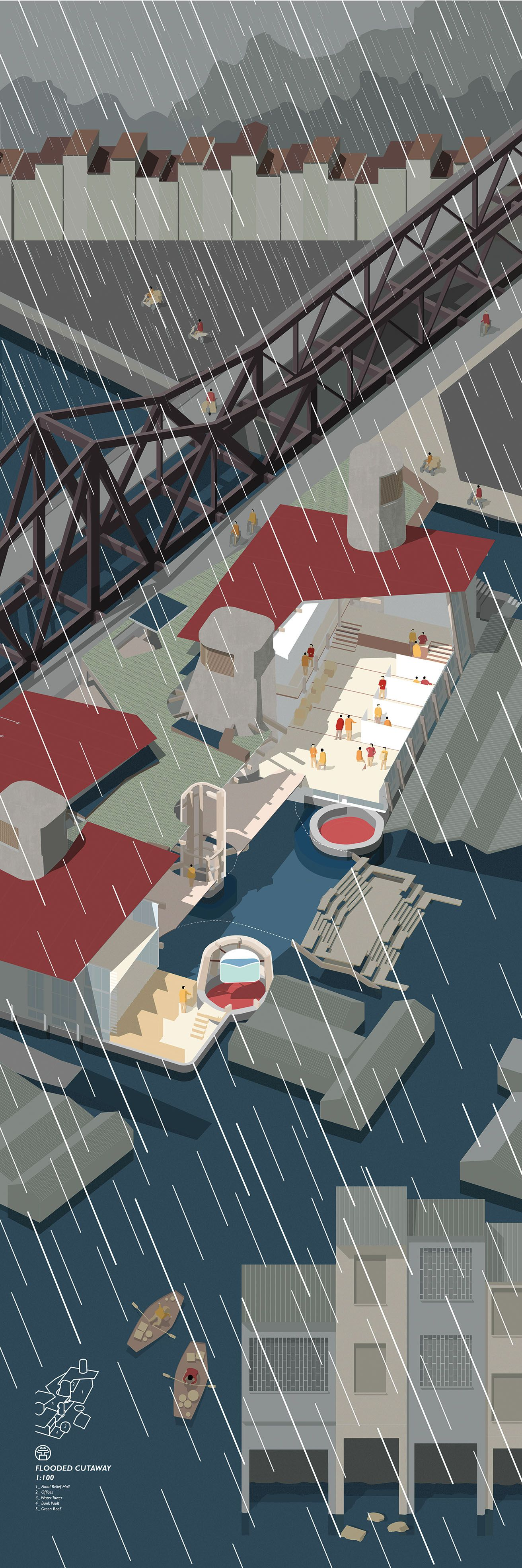 Picture Book Illustration Making An Architectural Model: Jamie Hignett, Bartlett School Of Arhcitecture, Unit 1