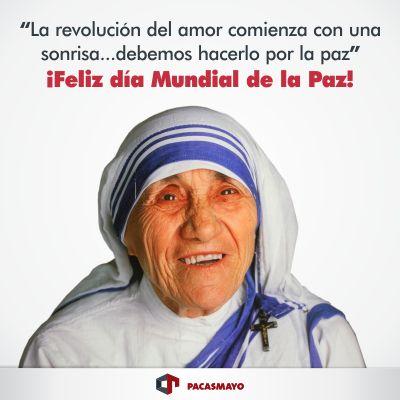 La Revolucion Del Amor Comienza Con Una Sonrisa Debemos Hacerlo