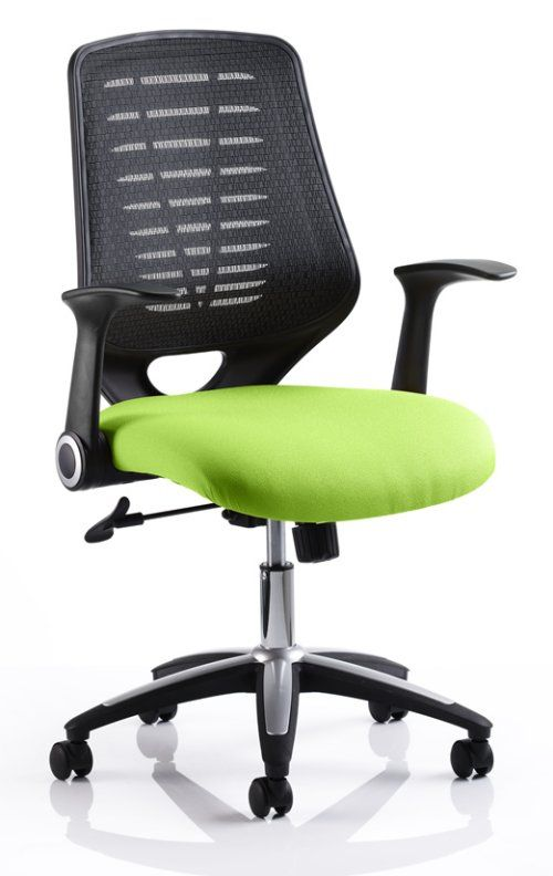 relay mesh chair available in various fabric colours http www