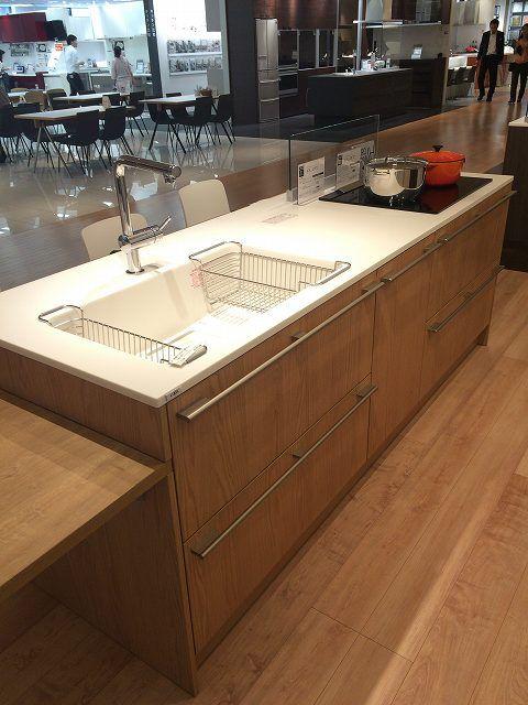 リクシルの新キッチン リシェルplatを見てきた キッチンまわり キッチン キッチンデザイン