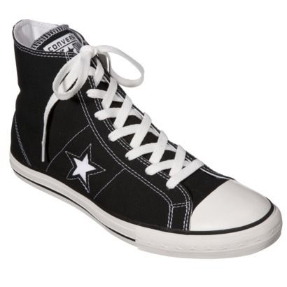 Converse one star shoes, Black
